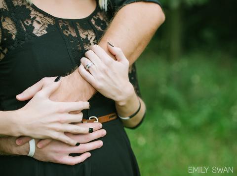 emily swan photography engagement black lace south dakota park summer 5