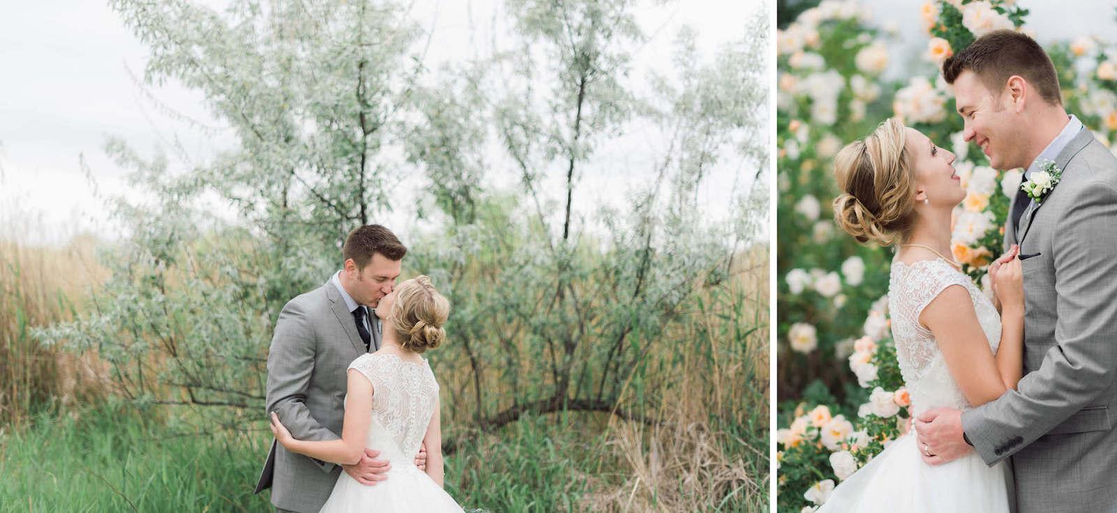Beautiful wedding day portraits Ortonville Minnesota