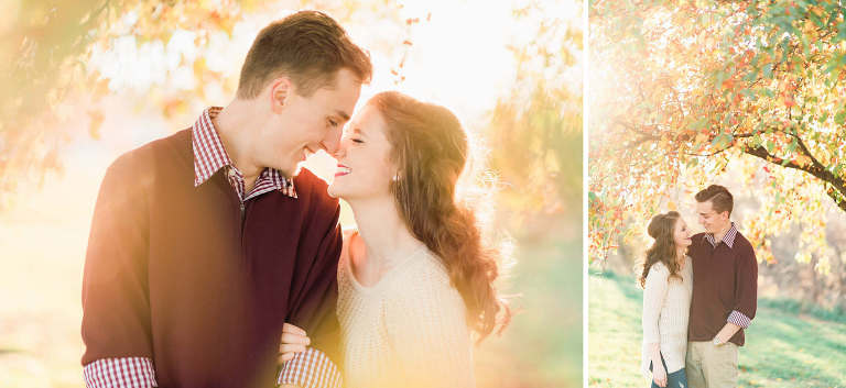 Natural fine art Sioux Falls engagement photographer