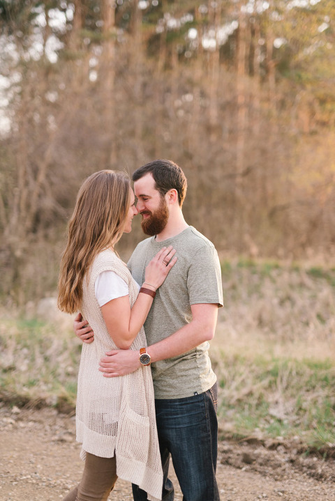 Brooke Amp Andrew Midwest Nature Reserve South Dakota Engagement Photography Emily Swan