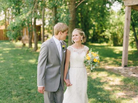 Outdoor summer wedding Harrisburg South Dakota fine art photography