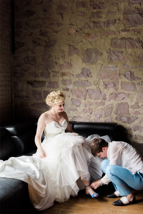 Beautiful locations for wedding photography in downtown Sioux Falls
