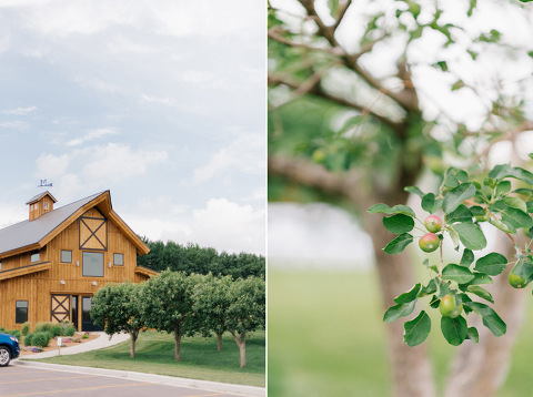 Meadow Barn at Country Orchards Harrisburg, South Dakota wedding venue wedding photography